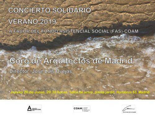 Arquitectura, música y solidaridad