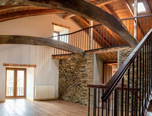 Reforma de antigua casa de labranza en Galicia